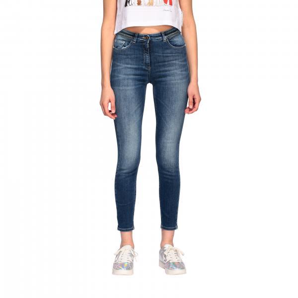 Jeans Elisabetta Franchi slim a vita alta