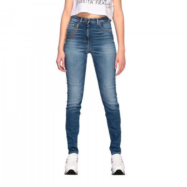 Elisabetta Franchi 高腰紧身牛仔裤