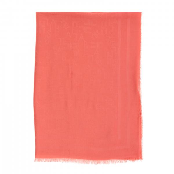 Elisabetta Franchi scarf with all over lettering