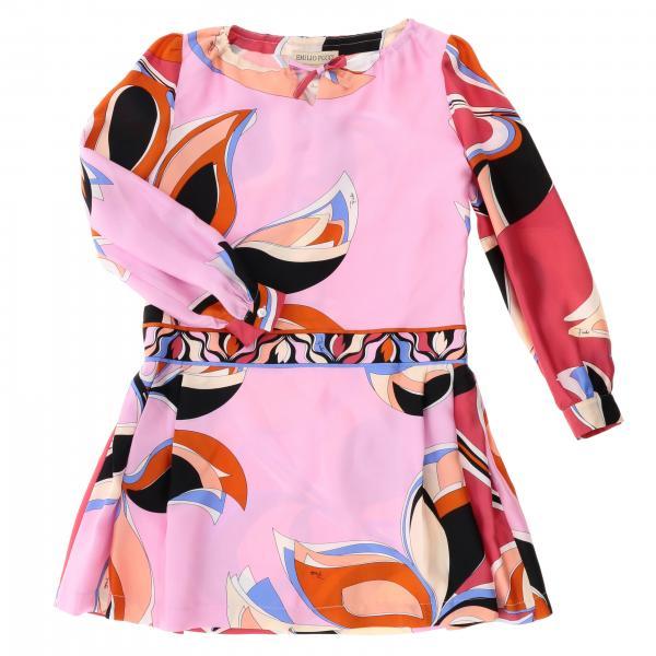 Платье с принтом Детское Emilio Pucci