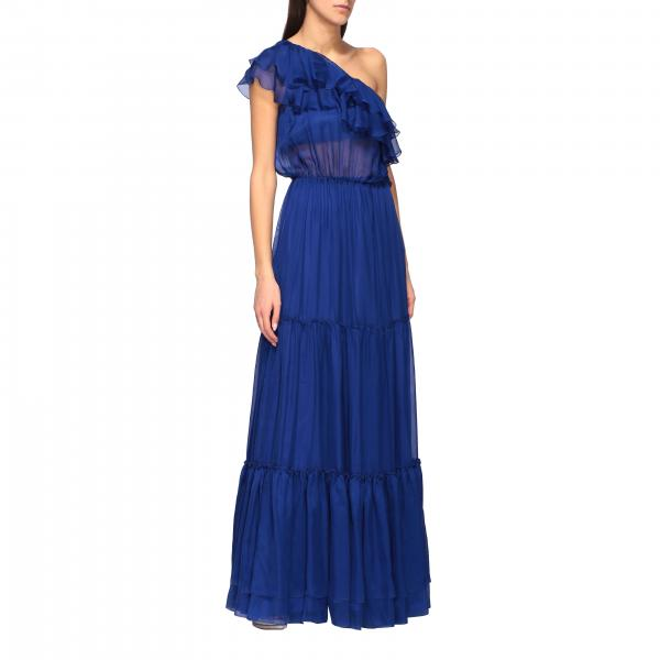 Federica Tosi one-shoulder dress with ruffles