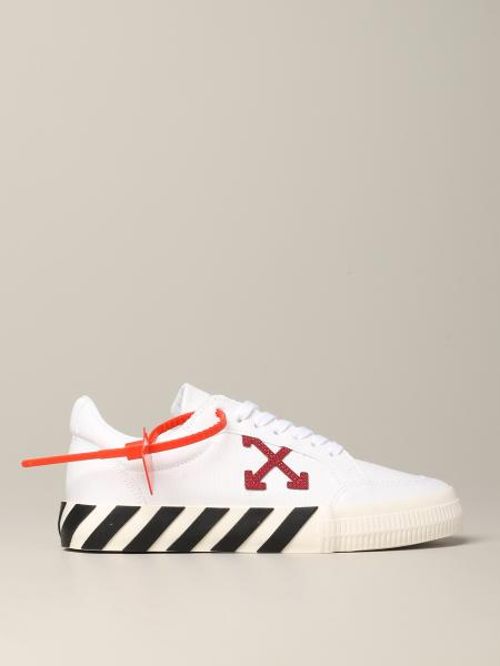 Sneakers Off White in pelle con logo