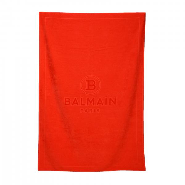 Telo da bagno Balmain con logo