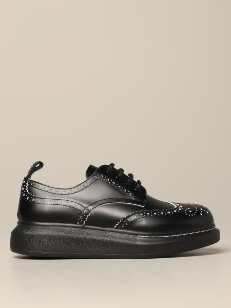 Mcq Mcqueen derby in leather with brogue motif