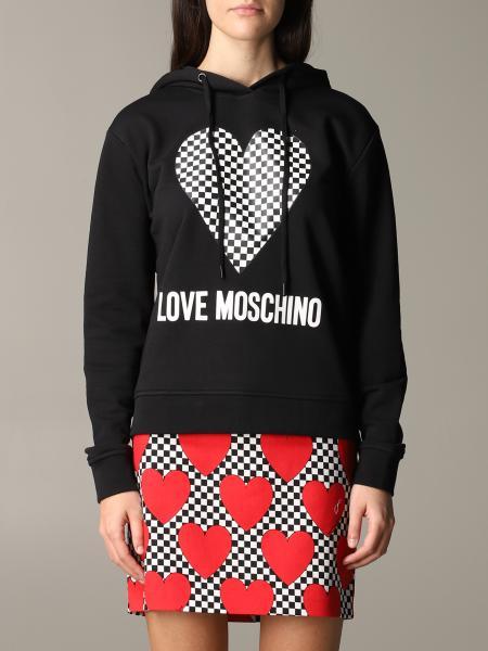 Sweatshirt women Love Moschino