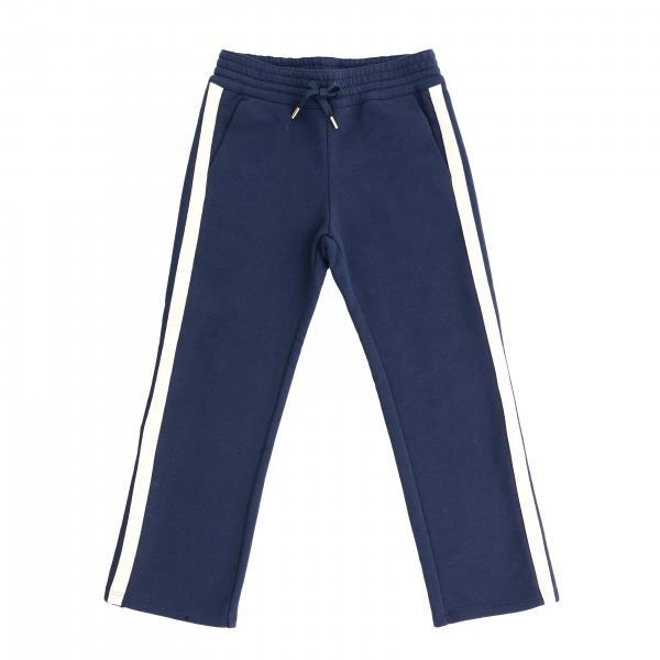 Pantalone Chloé stile jogging con bande colorate
