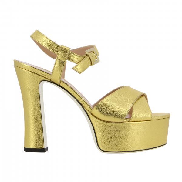 Sandalias de tacón mujer Pollini