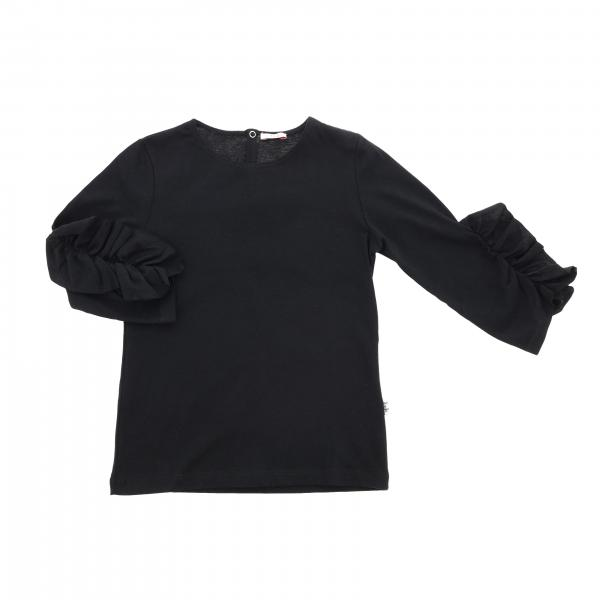 Il Gufo long-sleeved t-shirt with ruffles