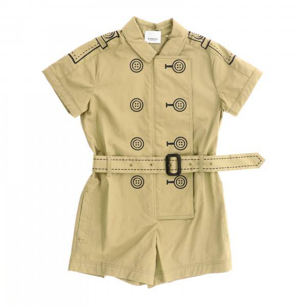 Burberry Overall aus Baumwolle