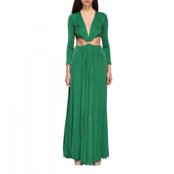 Kleid elisabetta franchi kleid mit ring Elisabetta Franchi - Giglio.com