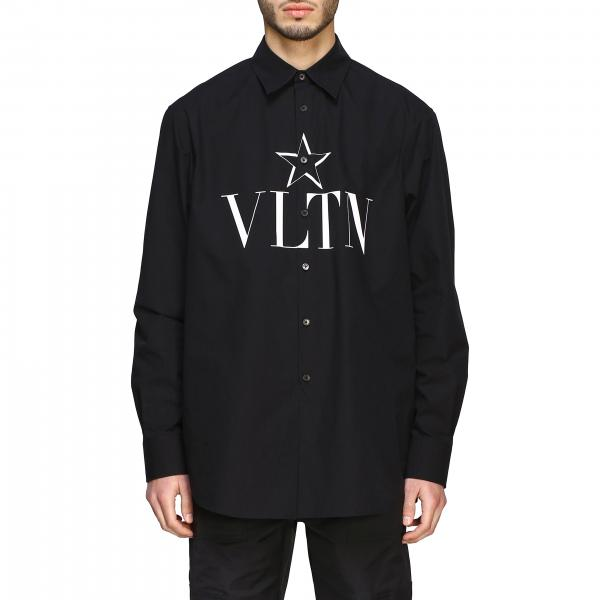 Valentino shirt with VLTN and star print