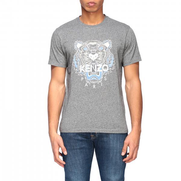 T-shirt Kenzo a girocollo con logo Tiger Kenzo Paris