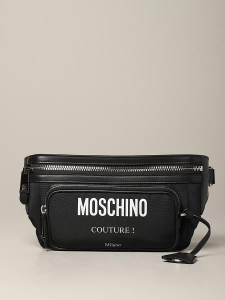 Moschino Couture belt bag with logo print