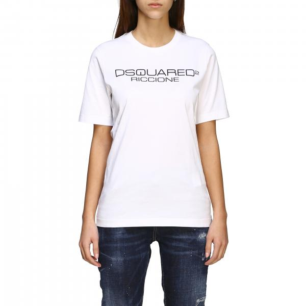 T-shirt Dsquared2 con stampa logo