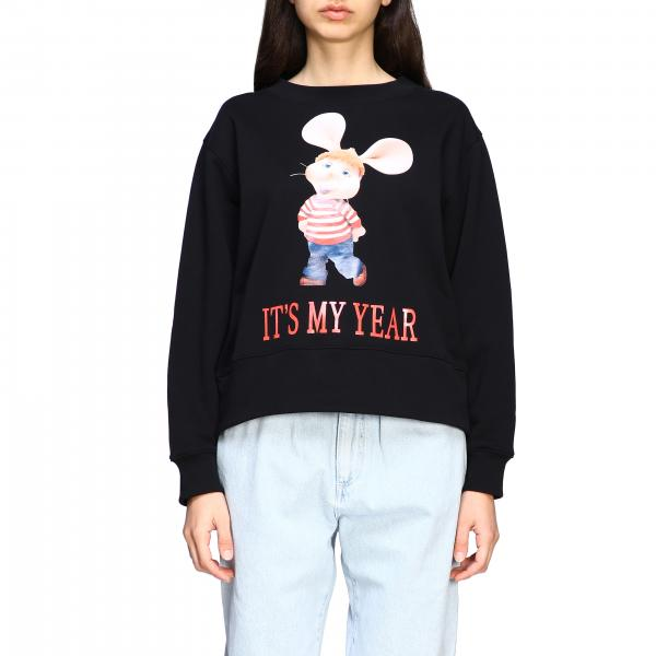 Alberta Ferretti crewneck sweatshirt with