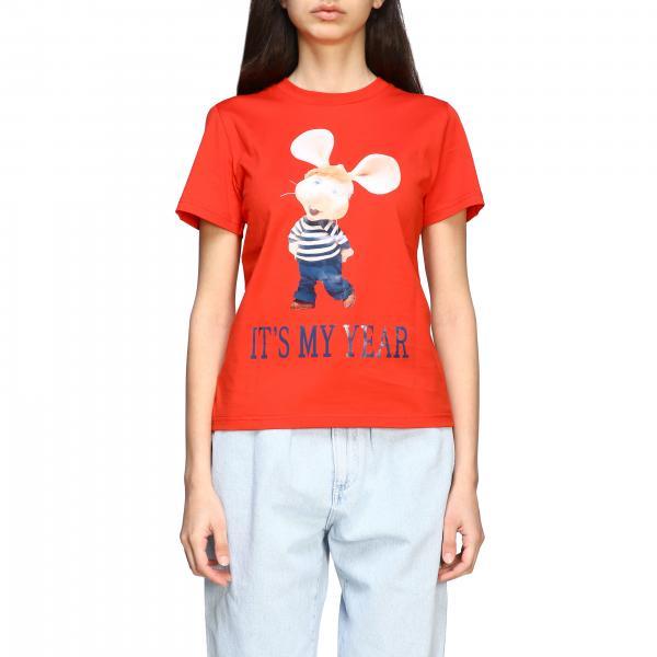 T-shirt Alberta Ferretti a maniche corte con stampa