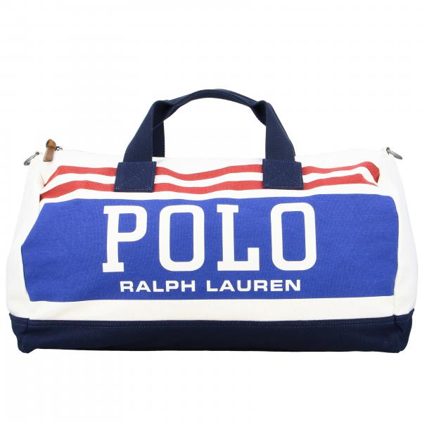 Borsone Polo Ralph Lauren in tela con big logo