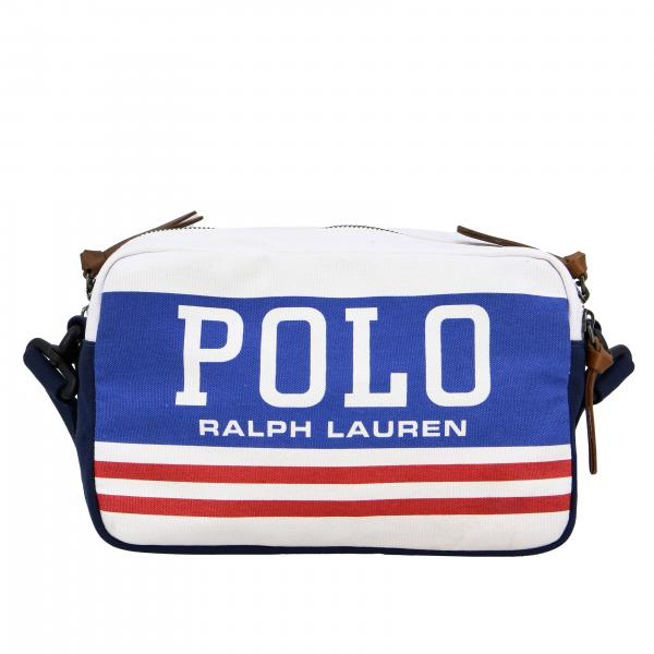 Polo Ralph Lauren shoulder bag in canvas with logo