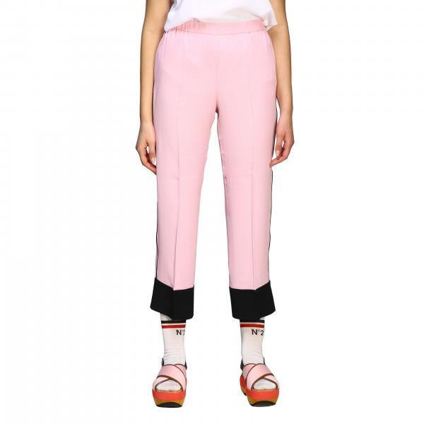 Pantalone N° 21 con contrasti