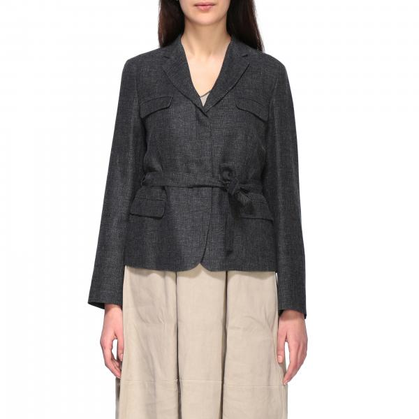 Fabiana Filippi single-breasted jacket with belt