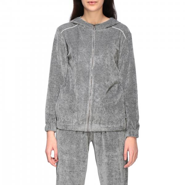 Fabiana Filippi sweatshirt with hood and zip