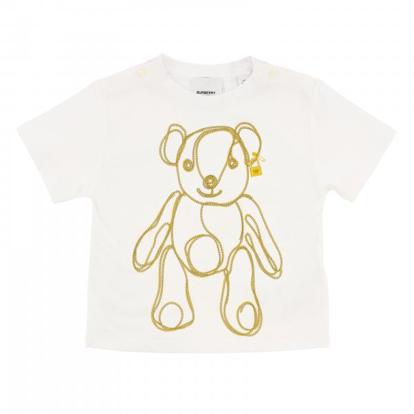 T-shirt Burberry Infant a maniche corte con stampa orsetto Thomas