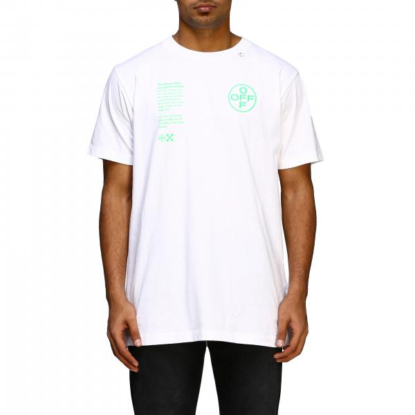 Camiseta Off White OMAA027R20185006