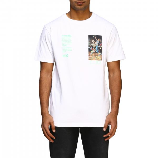 Off White t-shirt with big back print