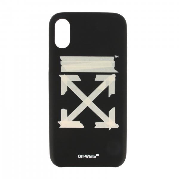 Cover Off White Iphone XS con stampa logo
