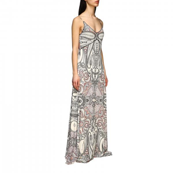 Long Etro dress with triangle neckline