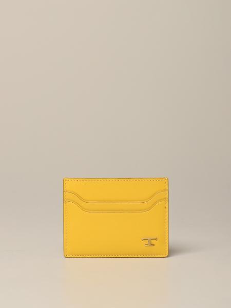 Porte-cartes de crédit Tod's en cuir