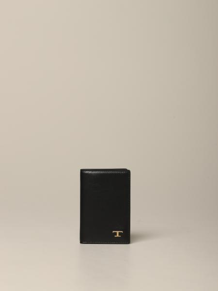 Tod's Leder Brieftasche mit Logo