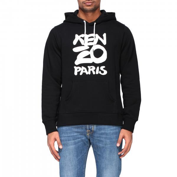 Kenzo sweatshirt with hood and logo