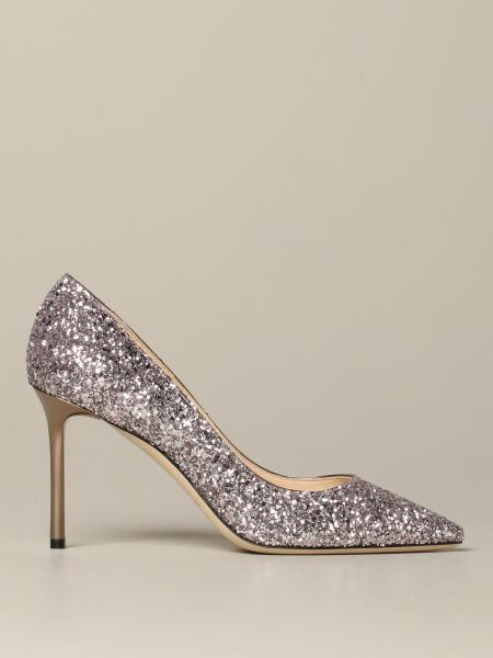 Jimmy Choo Romy glitter pumps