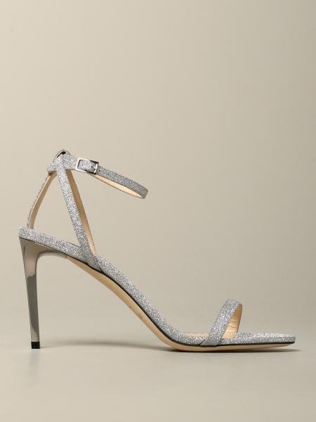 Heeled sandals jimmy choo minny glitter sandal Jimmy Choo - Giglio.com