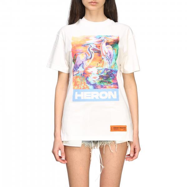 T-shirt women Heron Preston