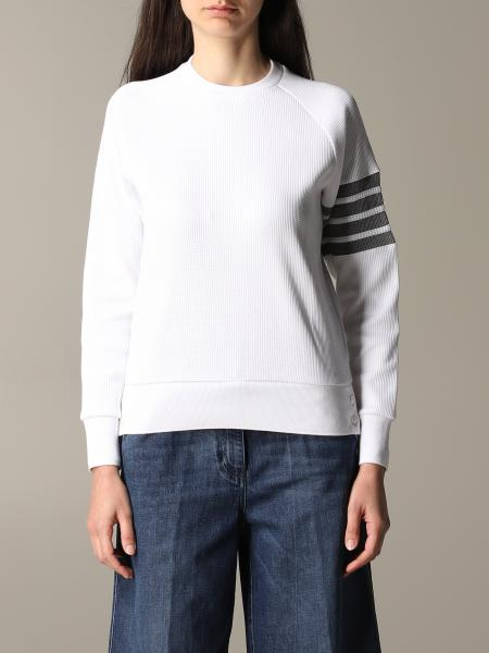 Thom Browne sweatshirt with striped bands