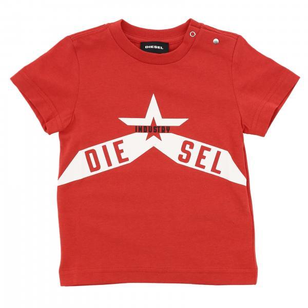 Diesel logo短袖T恤