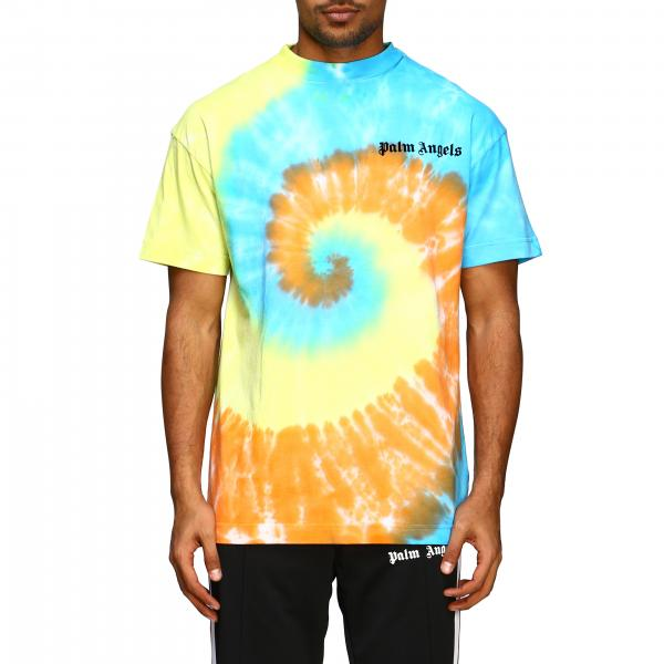 T-shirt Palm Angels stampata a maniche corte