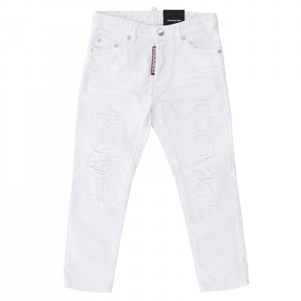 Dsquared2 Junior Hose mit Rissen