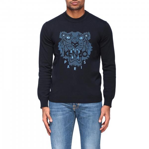 Kenzo crewneck sweatshirt with Tiger Kenzo Paris logo