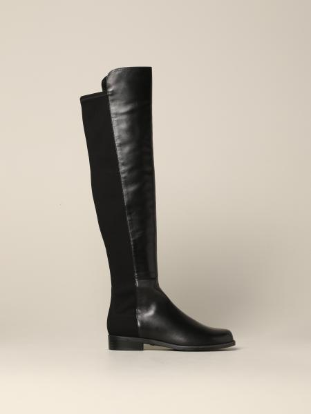 Stuart Weitzman high boot in leather