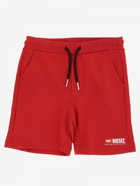 Diesel logo装饰运动风短裤