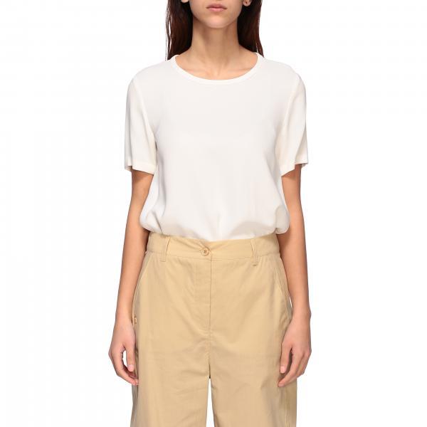 T-shirt S Max Mara a maniche corte