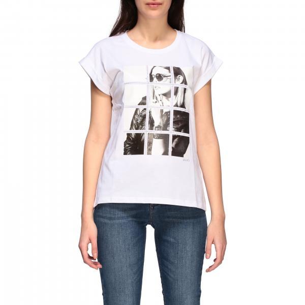 T-shirt Liu Jo con stampa fotografica