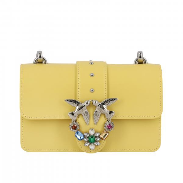 Borsa Love mini Jewels Pinko in pelle