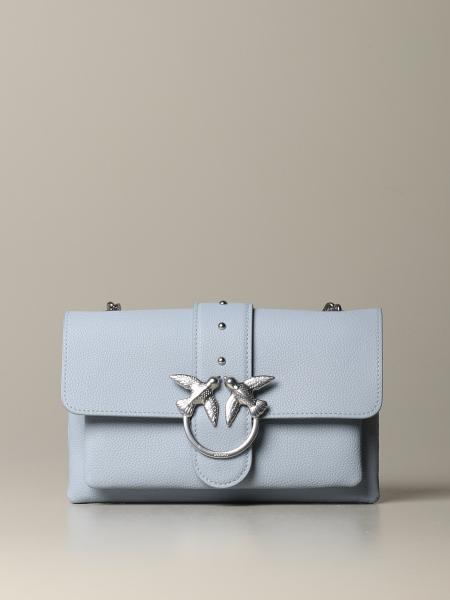 Pinko Love mini soft simply 1 leather bag