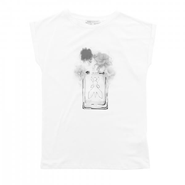 Patrizia Pepe short-sleeved T-shirt with logo print