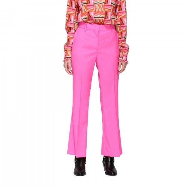 Msgm classic trousers with wide bottom