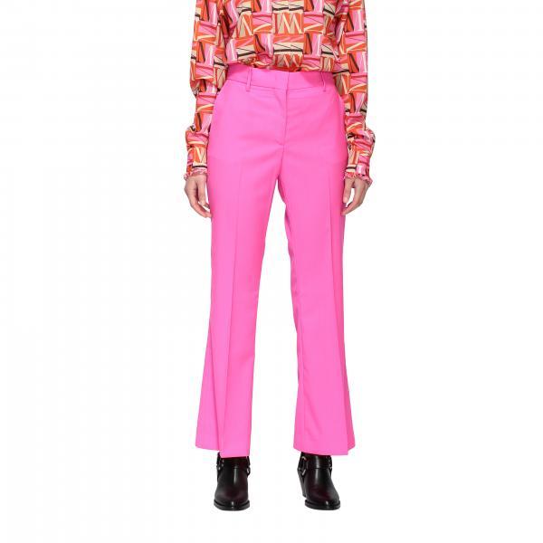 Pantalone Msgm classico con fondo ampio